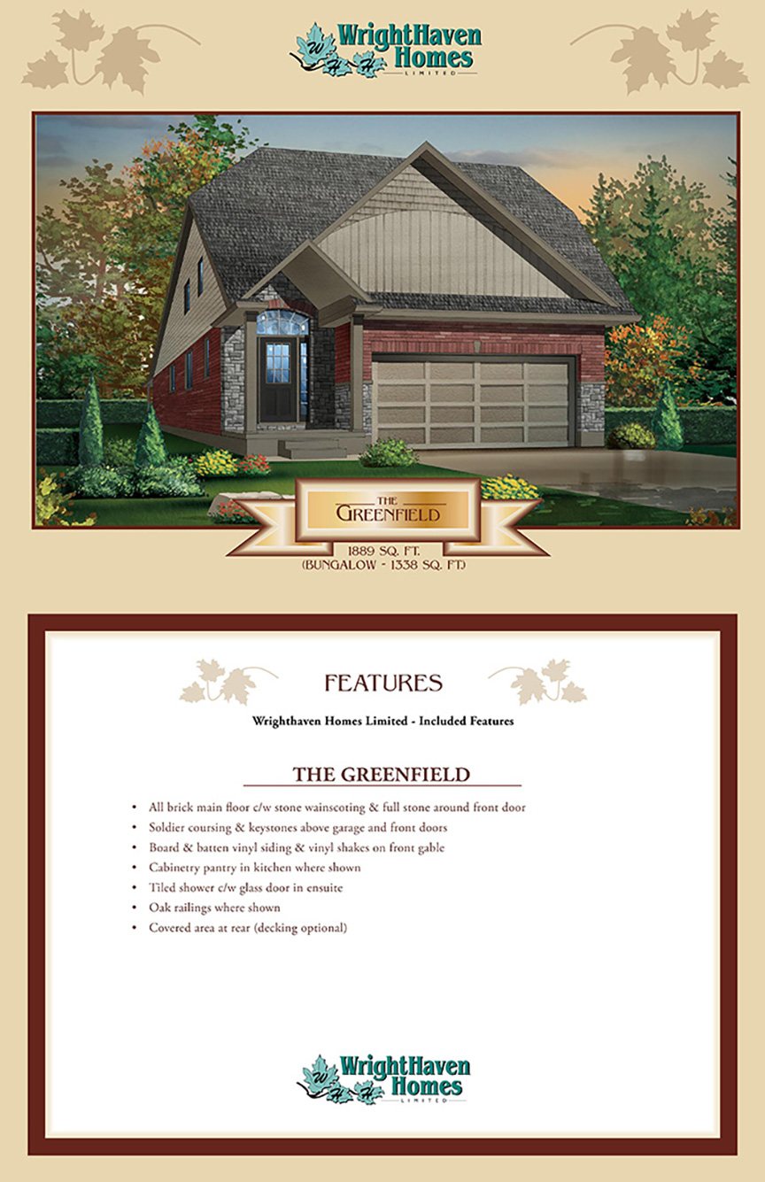 The Greenfield exterior design