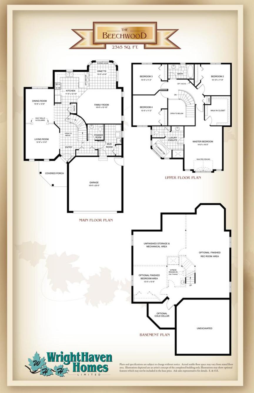 Beechwood model home elora for Beechwood home designs