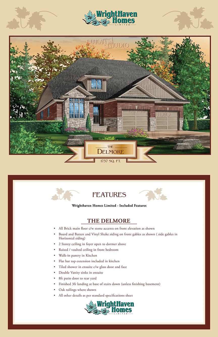 The Delmore exterior design